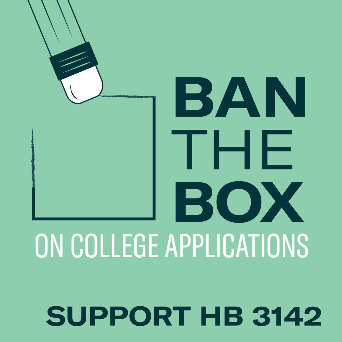 HB 3142 has passed out of the Senate Judiciary committee! We are proud to work with our sponsor, @PatMcguire43, and partner @HeartlandPolicy to ensure that people with criminal records are not deterred from getting an education. #banthebox  #twill<br>http://pic.twitter.com/BqUnhTZV8R