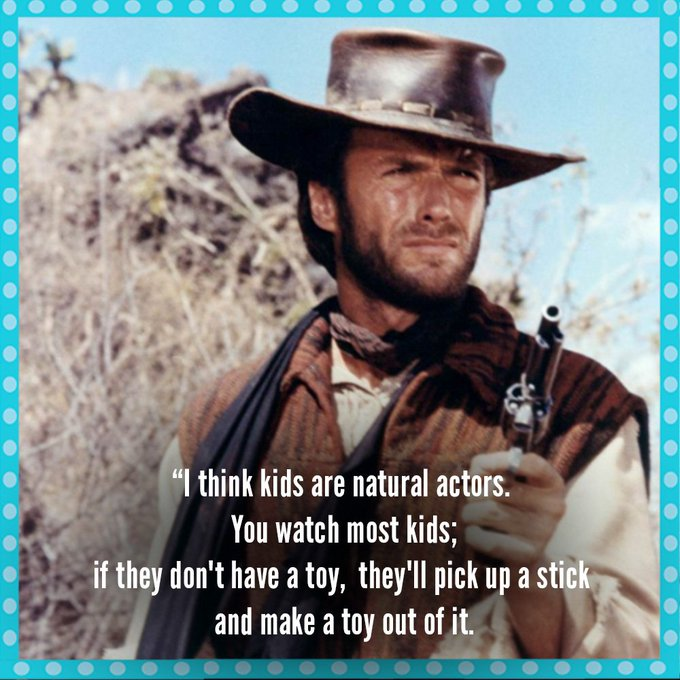 Happy birthday to Clint Eastwood, 88 today