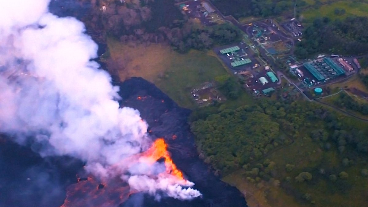 Volcano Lava Reaches Geothermal Plant and Pacific Ocean in Hawaii, Risking Public Health Disaster https://t.co/KPmGVD0SMO