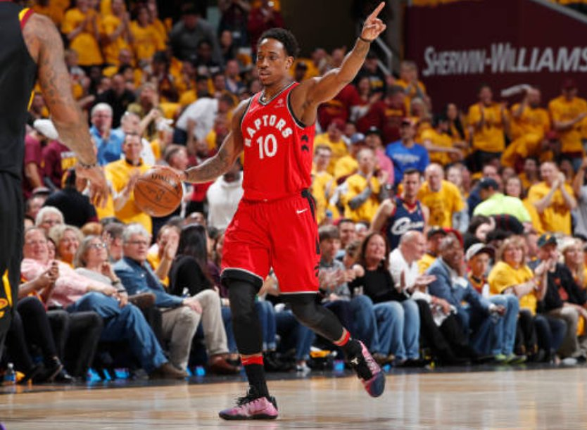 Raptors' DeRozan named to All-NBA Second Team. MORE: https://t.co/iKUqygqsDq