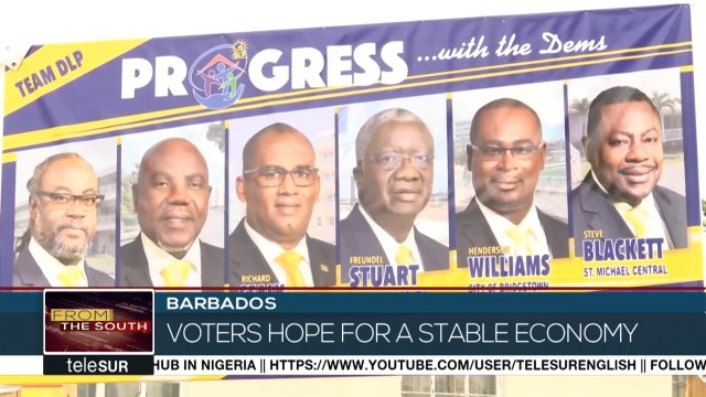 It's a big day in Barbados. Over two hundred thousand voters will decide the country's next Prime Minister and the members of the National Assembly.  #barbados #election #vote Correspondent: @laupradatelesur