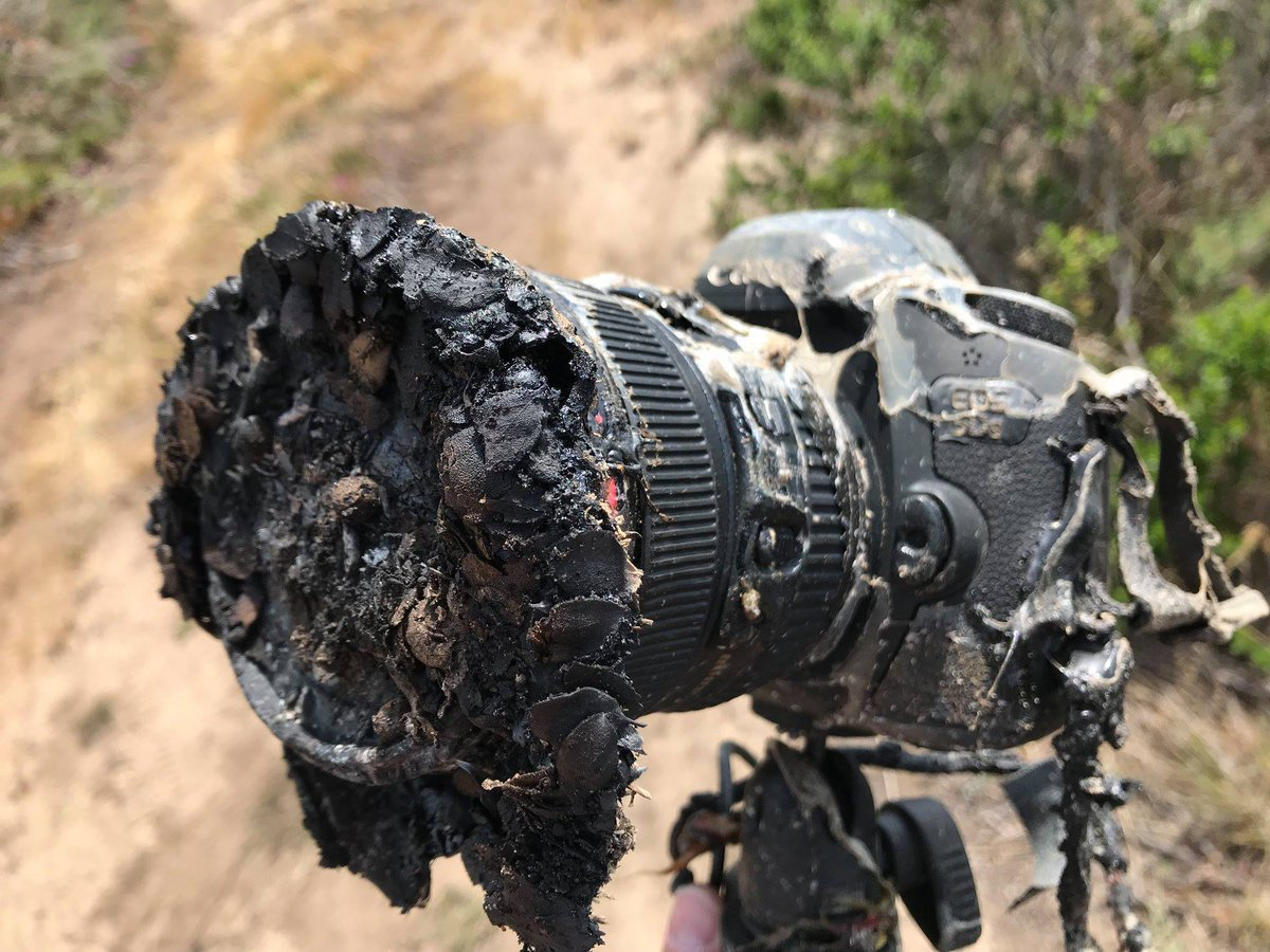 SpaceX's Falcon 9 destroyed this photographer's camera, but not before it captured an awesome shot https://t.co/gRAfujwSv7