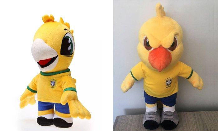 Mascote feliz encalha, e CBF lança Canarinho Pistola de pelúcia por R$ 99 https://t.co/ViM7Ea7EL4