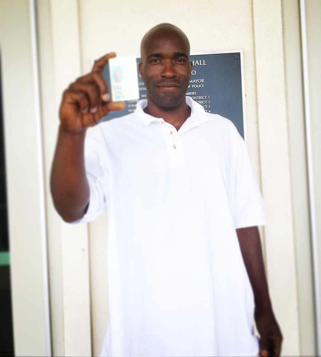 Corey got his first state ID today after a 3 hour wait at the #DMV. Transportation, cost, and logistics are a difficult barrier after incarceration. Your support has helped Corey's reentry. He spent the wait reading everyone's messages of support. Thank you! #freecorey #reentry<br>http://pic.twitter.com/CjcY1cM9Wg
