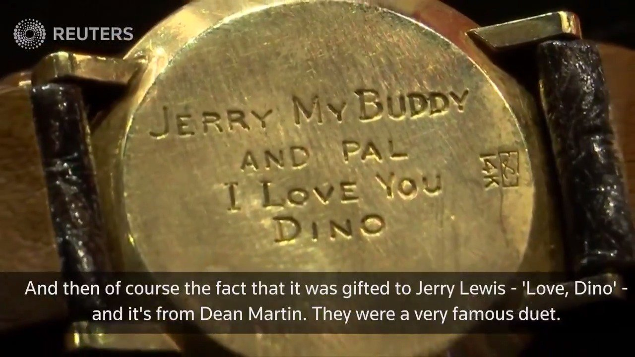 Personal and professional items from actor Jerry Lewis hit the auction block https://t.co/O3NlYZmLDW