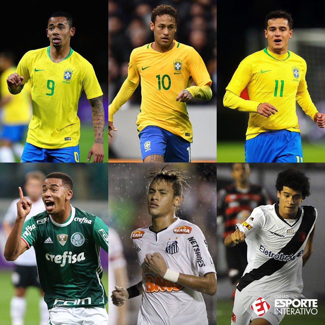 Futebol brasileiro: a verdadeira fábrica de talentos!