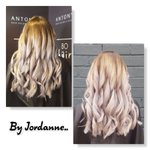 Image for the Tweet beginning: Stunning ombre with purple toner