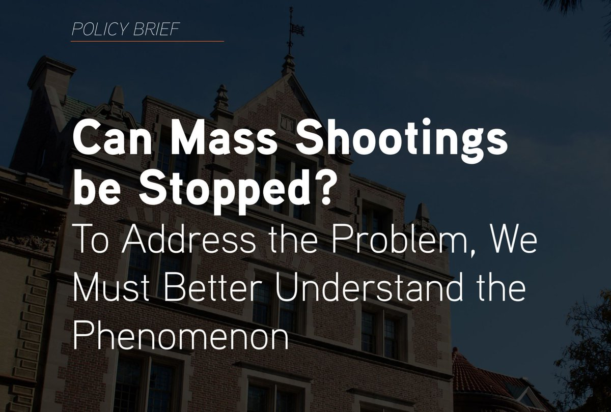 Here's what we know about 50 years of mass shootings in the United States: https://t.co/dBR3PMHOo5 by @jschildkraut80, Margaret Formica, @jimmalatras