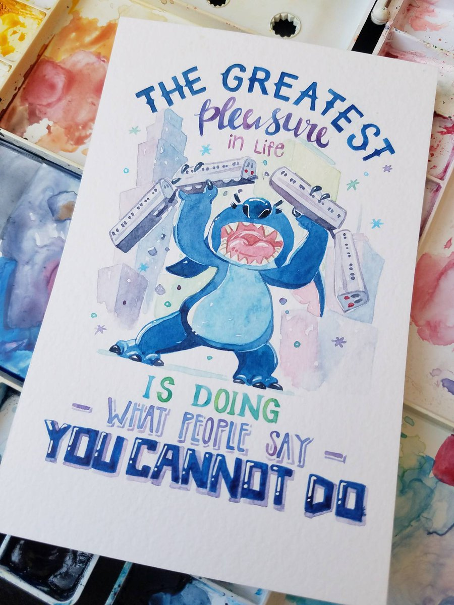 Penelopeloveprints On Twitter And My Last Quote For Now Stitch