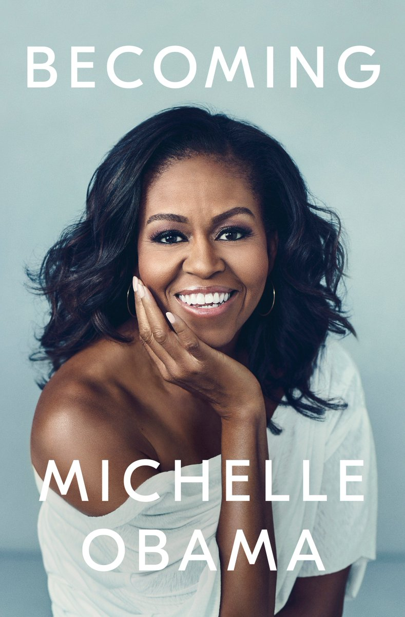 Michelle Obama released the cover for her upcoming memoir, her first book since leaving the White House: