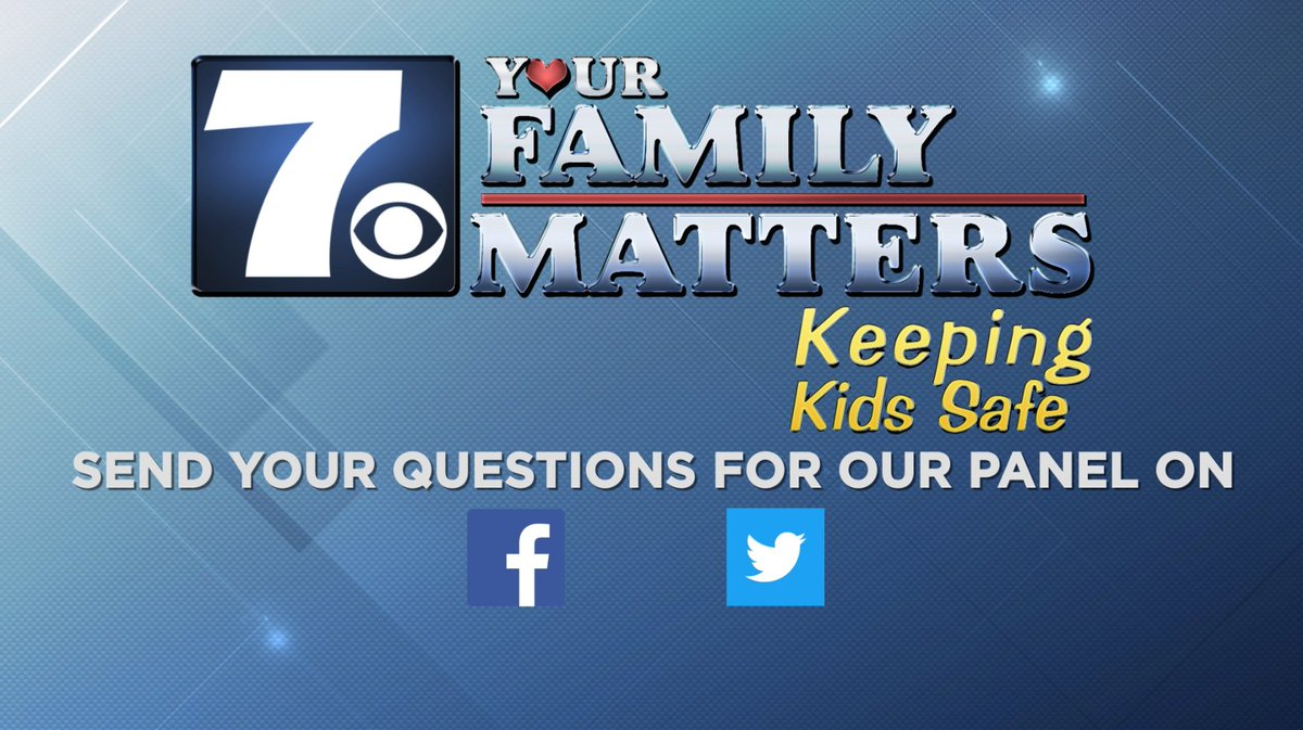 YOUR FAMILY MATTERS! We want to hear from you! Next week, we will be having a special round table discussion about keeping our kids safe. Comment or message us questions you would like to see discussed.