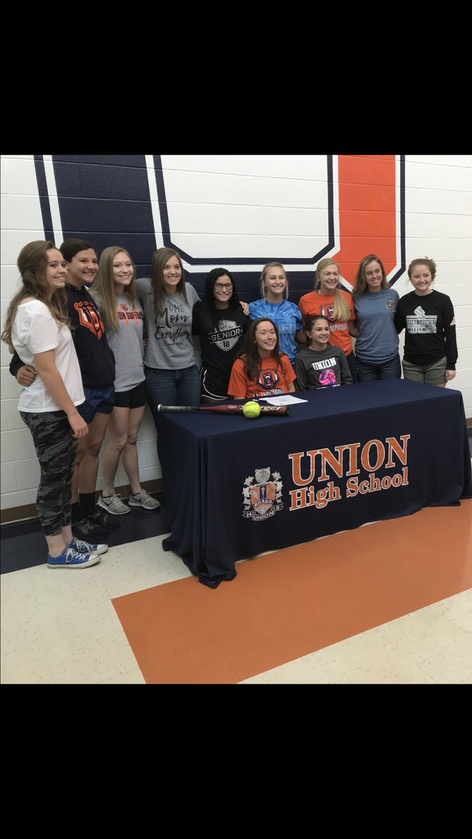 Congratulations Micah Elkins for signing with Ferrum to play softball