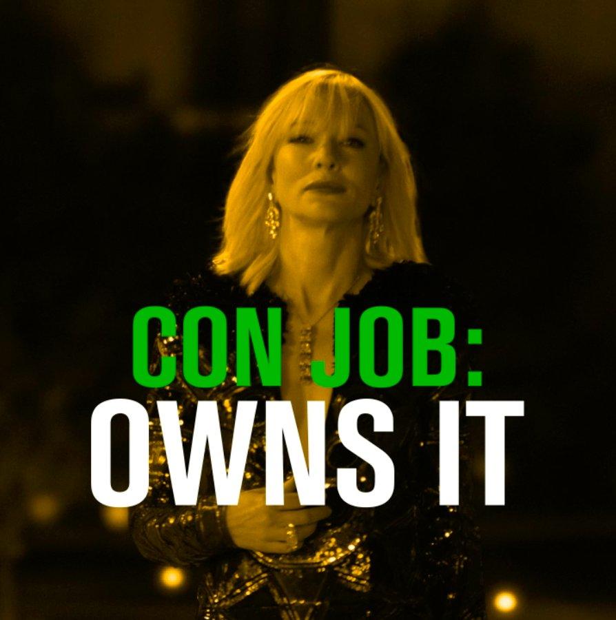 Own it. #Oceans8
