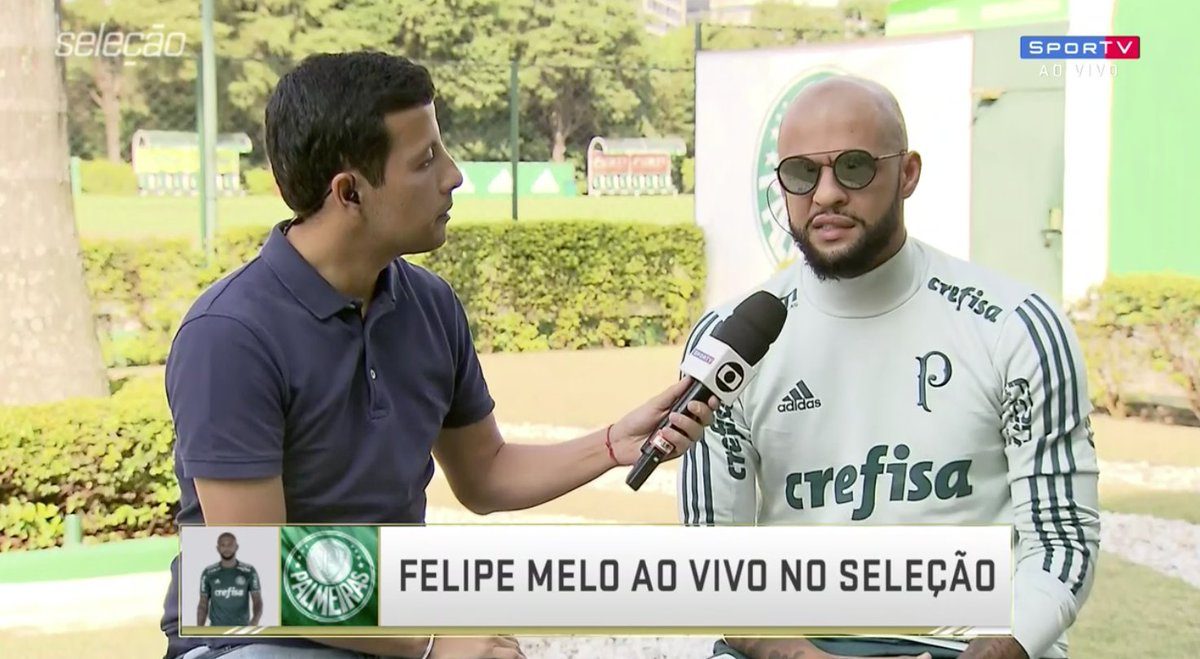 Felipe Melo no #SelecaoSporTV
