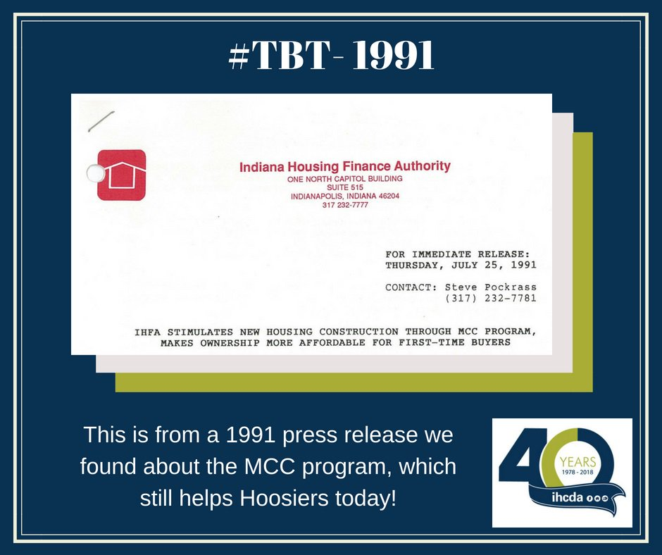 Ihcda On Twitter Today For Tbt Were Sharing An Agency Press