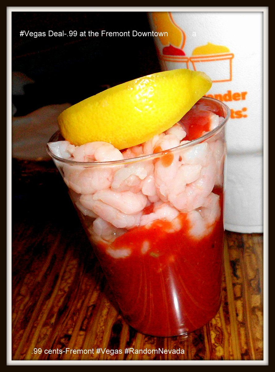 GeneralGCuster On Twitter Shrimp Cocktails Just Like This One Are Still 99 Cents At The Fremont Hotel Casino Snack Bar Downtown