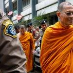 Thailand arrests senior monks in temple raids to clean up Buddhism https://t.co/bMzJ9GTHl2