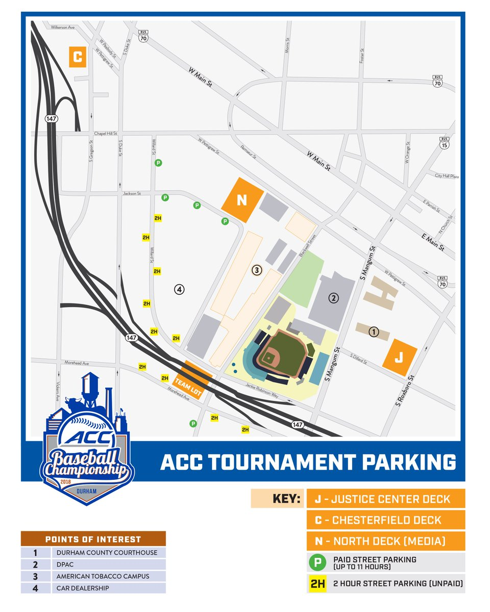 Durham Bulls On Twitter Parking Info Anyone Coming To The 3 P M
