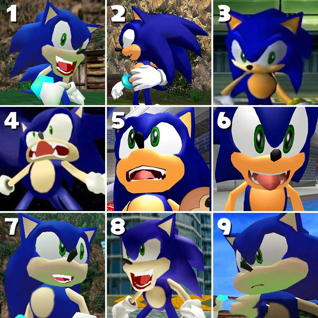 sonic the hedgehog on twitter which sonic are you