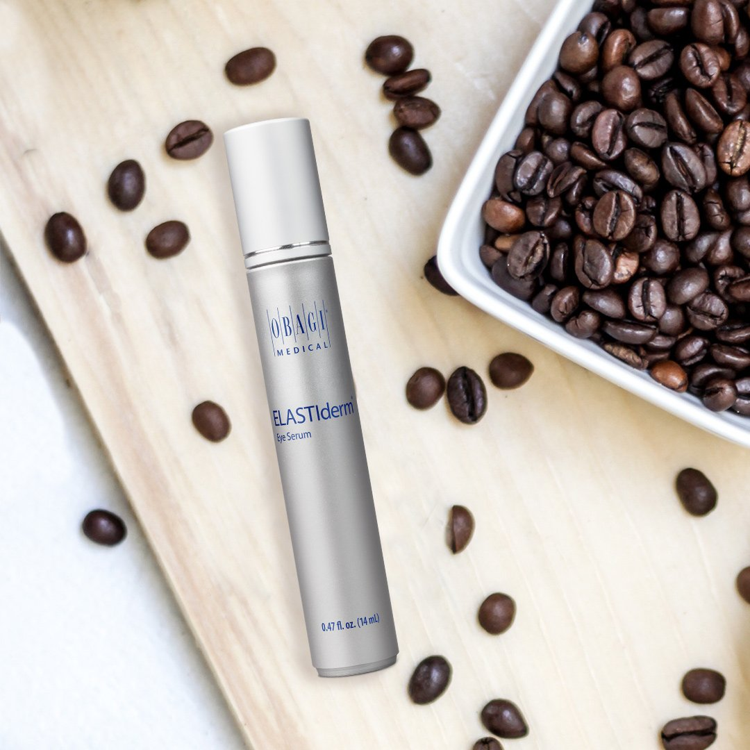 403c3b4413f ELASTIderm® Eye Serum uses a cooling rollerball applicator and is  formulated with caffeine to help reduce the appearance of under-eye  puffiness.