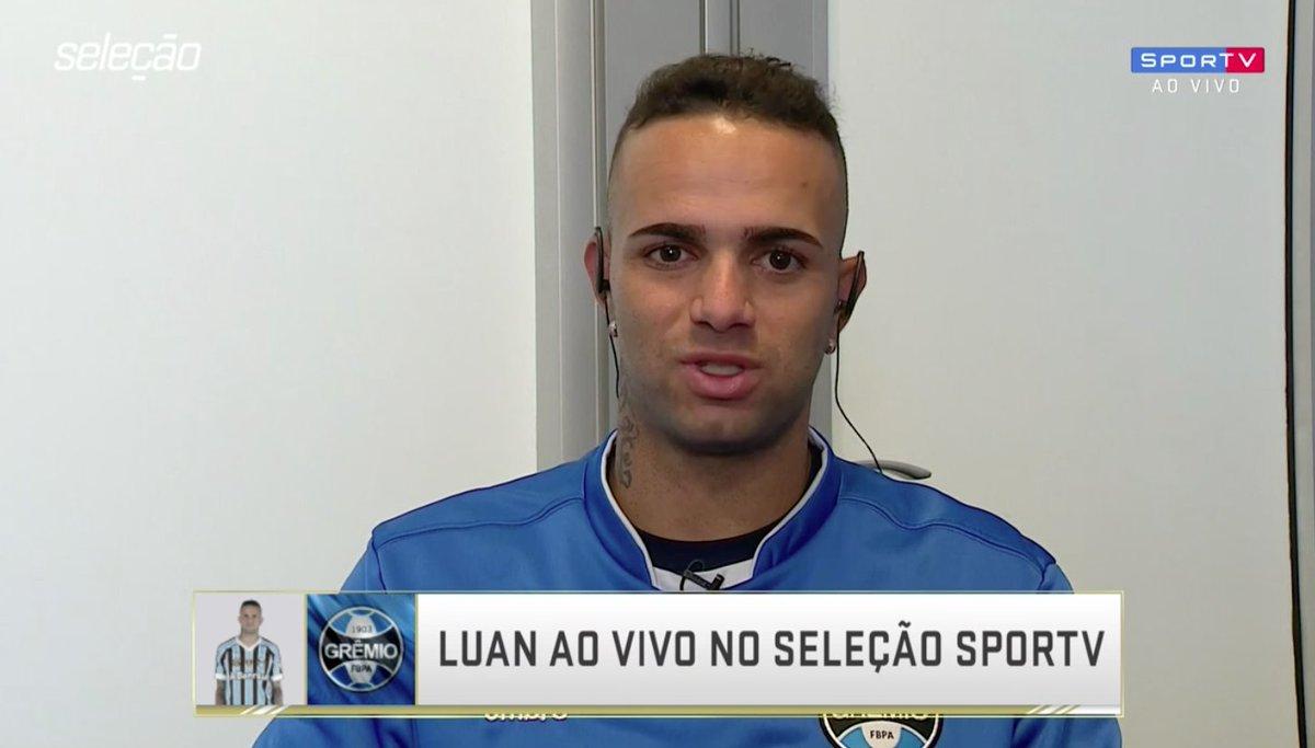 Luan no #SelecaoSporTV
