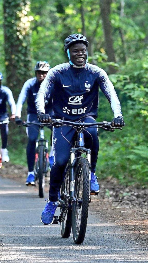 Feroze Ali On Twitter Quot N Golo Kante Riding A Bike Is One