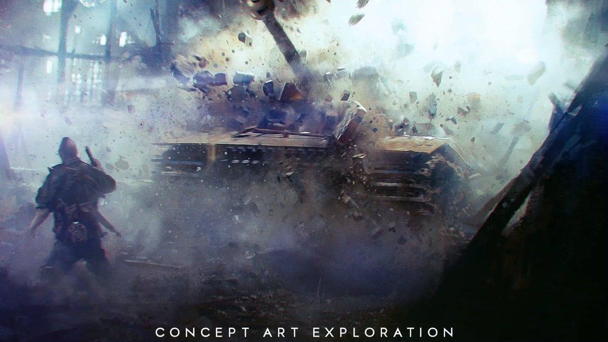 Art on twitter although the bfv trailer didn 39 t really - Battlefield v concept art wallpaper ...
