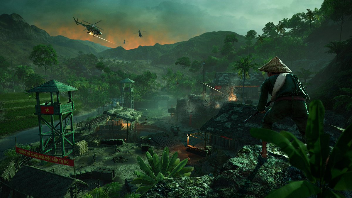 Ubisoft On Twitter Say Goodbye To The Mountains Of Hope County And Hello To The Jungles Of Vietnam Far Cry 5 S Hours Of Darkness Dlc Launches June 5 Details Https T Co M7wab4dfmp Https T Co Mcln4iyyzj
