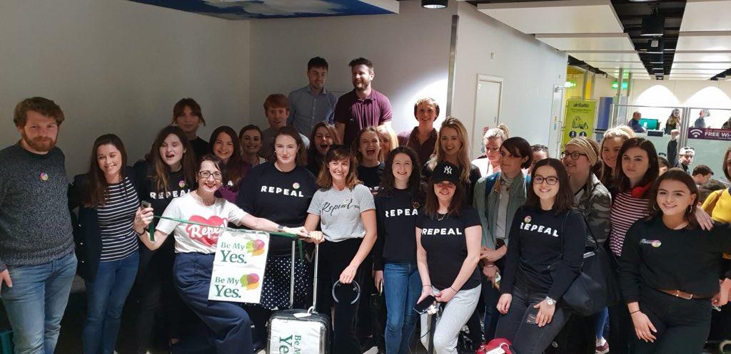 Irish Expats Travel Home to Vote on Abortion Referendum