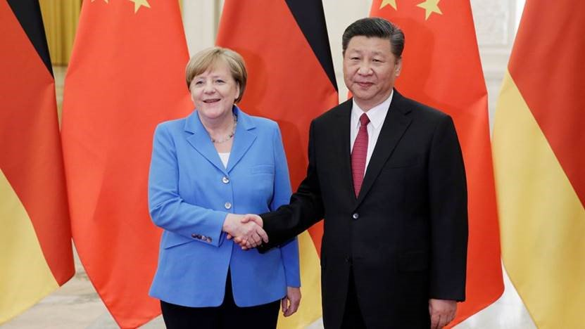 World's most powerful woman meets with world's most powerful man.