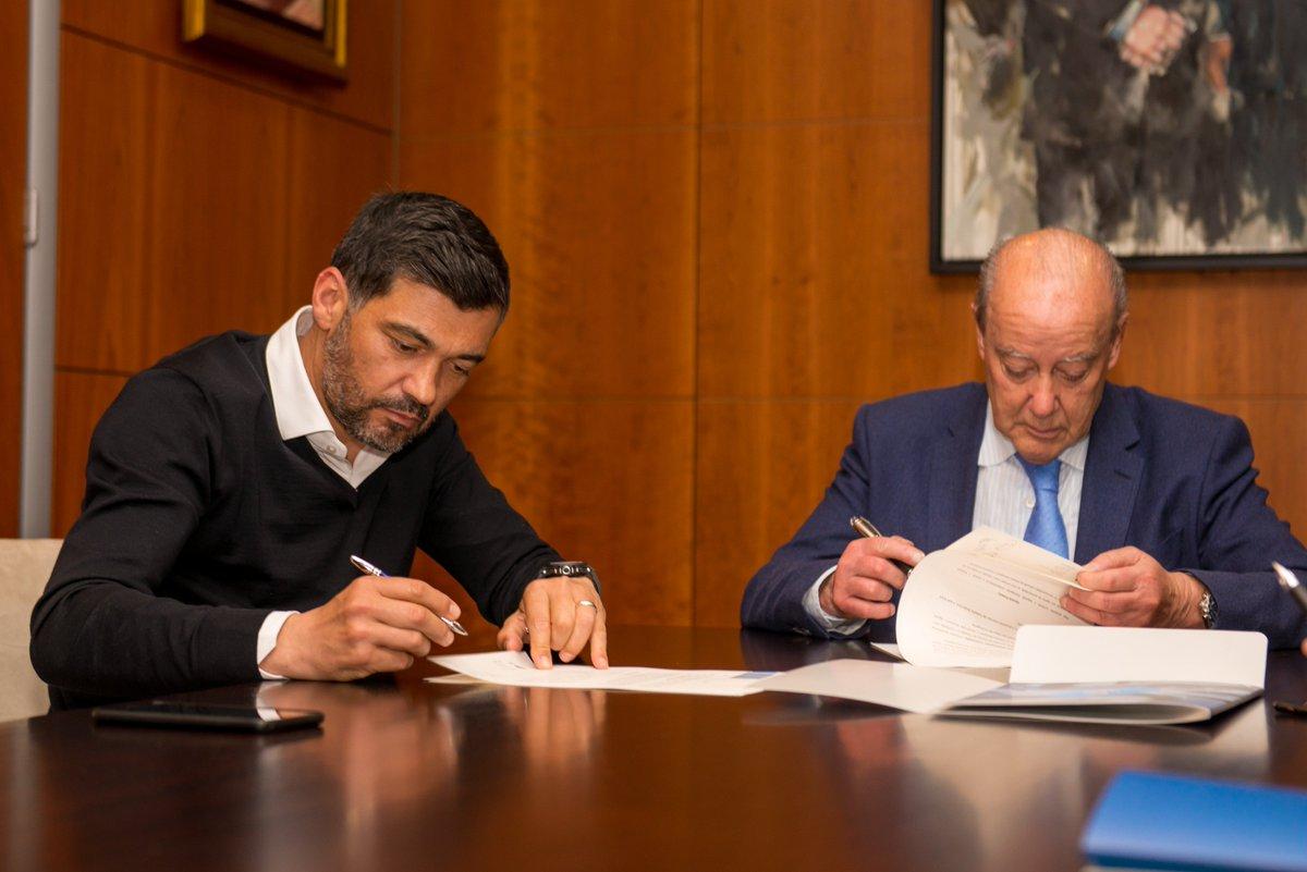 Sérgio Conceição renova contrato até Junho de 2020  #FCPorto #nascidosparavencer