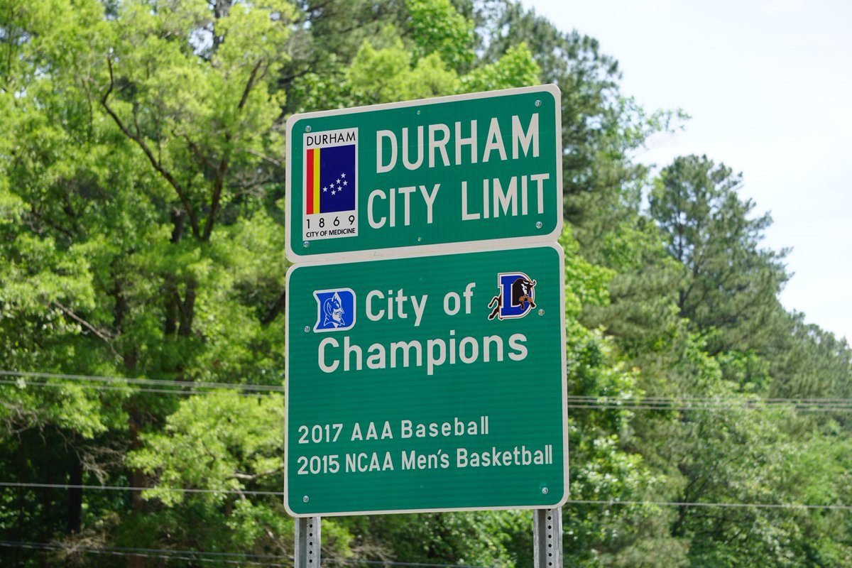 Discover Durham On Twitter New Ship New Sign Cityofchampions