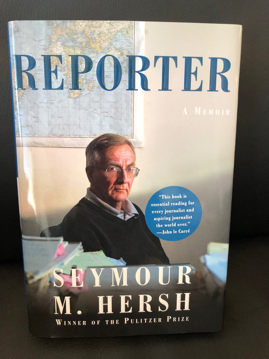 "Carlos Lozada on Twitter: ""REPORTER: A MEMOIR by Sy Hersh, coming June 8  via @AAKnopf… """
