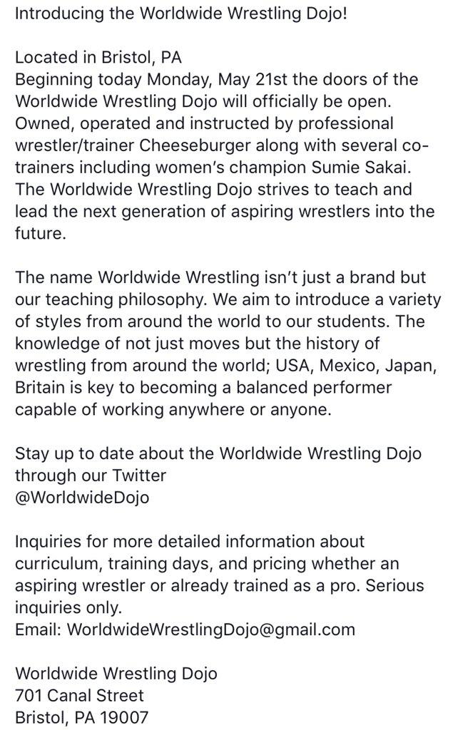 WorldwideDojo on Twitter: