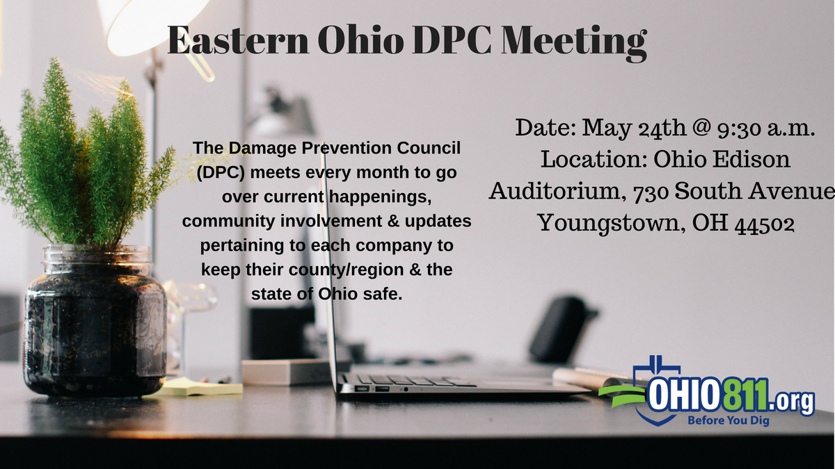 CORRECTION: We look forward to seeing everyone at the Eastern Ohio DPC Meeting this week! After the…
