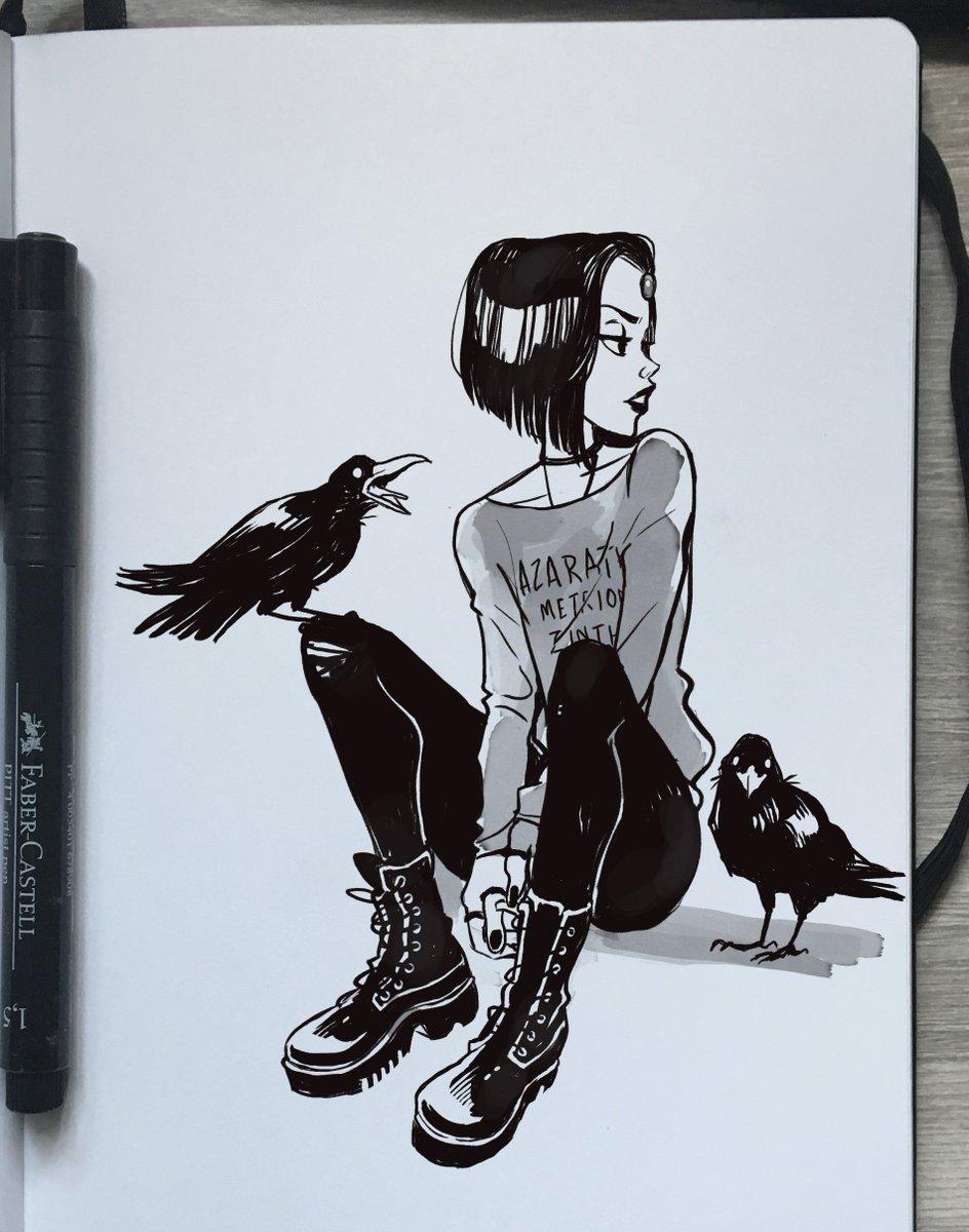 RT @_gabrielpicolo: I stan for one goth icon, I love Ravenn #WorldGothDay https://t.co/kxFgVNNqFT