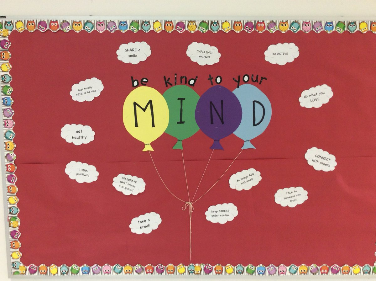 May is National Mental Health Awareness month. With SOL's and the year coming to a close, we are reminding our students to Be Kind To Your MIND. <a target='_blank' href='https://t.co/p8WvwEIDbC'>https://t.co/p8WvwEIDbC</a>