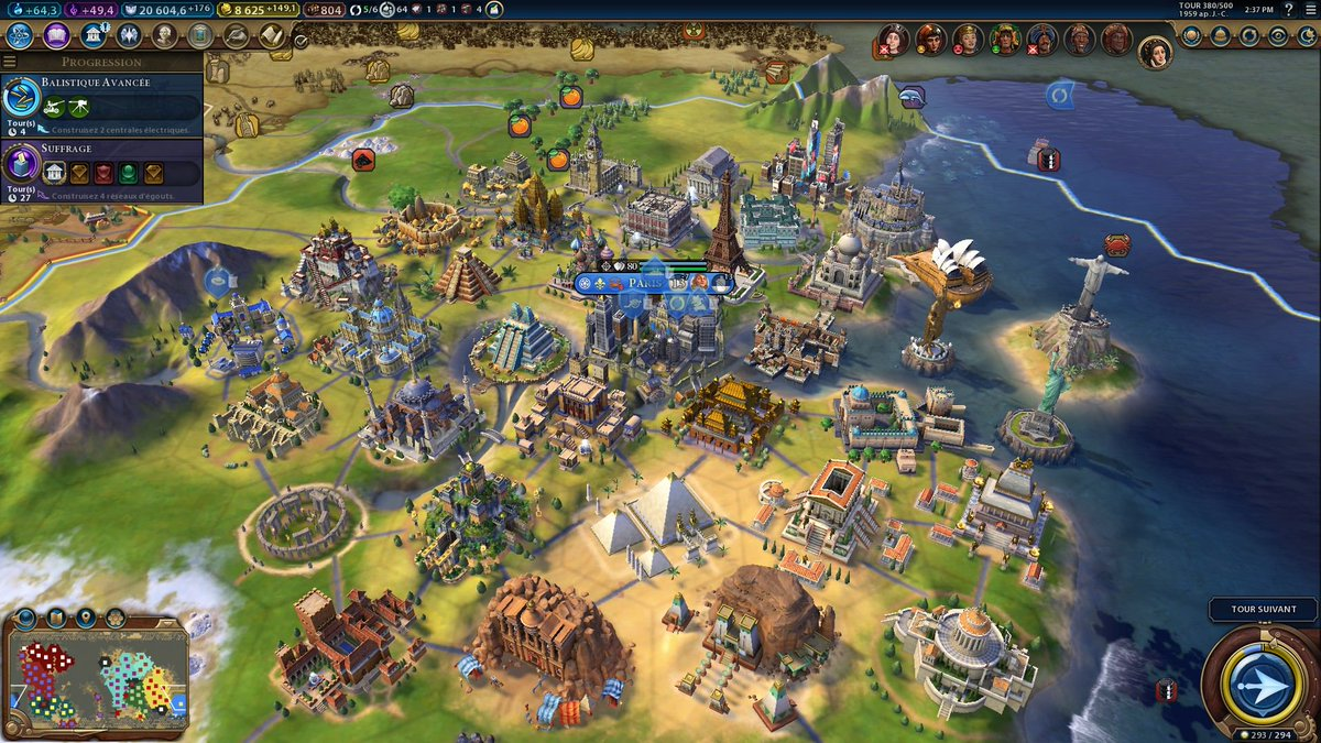 Civilization VI: Gathering Storm on Twitter: