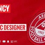 Image for the Tweet beginning: VACANCY | Aberdeen Football Club