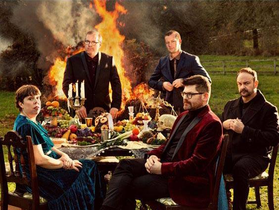 TONIGHT: @TheDecemberists with @whitneytheband at #RedRocksCO Doors 6:30 p.m.   Show 7:30 p.m.