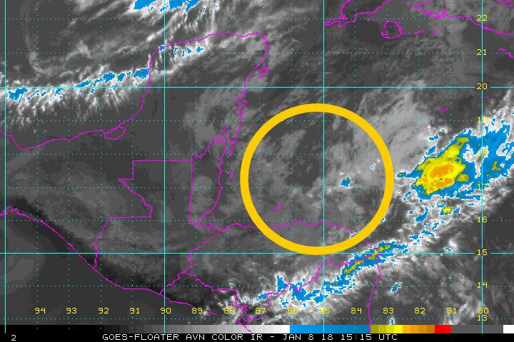test Twitter Media - An area of low pressure E of Belize is now Invest 90L & has a 40% chance of developing according to the NHC. Regardless of organization, the main impacts will be from heavy rain along the Gulf Coast States... something to keep in mind as you make your Memorial Day Weekend plans https://t.co/1g68NjaADY