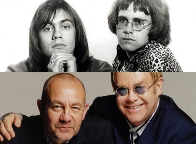 Happy 68th birthday Bernie Taupin! Still pretty sure you and Elton are twins.