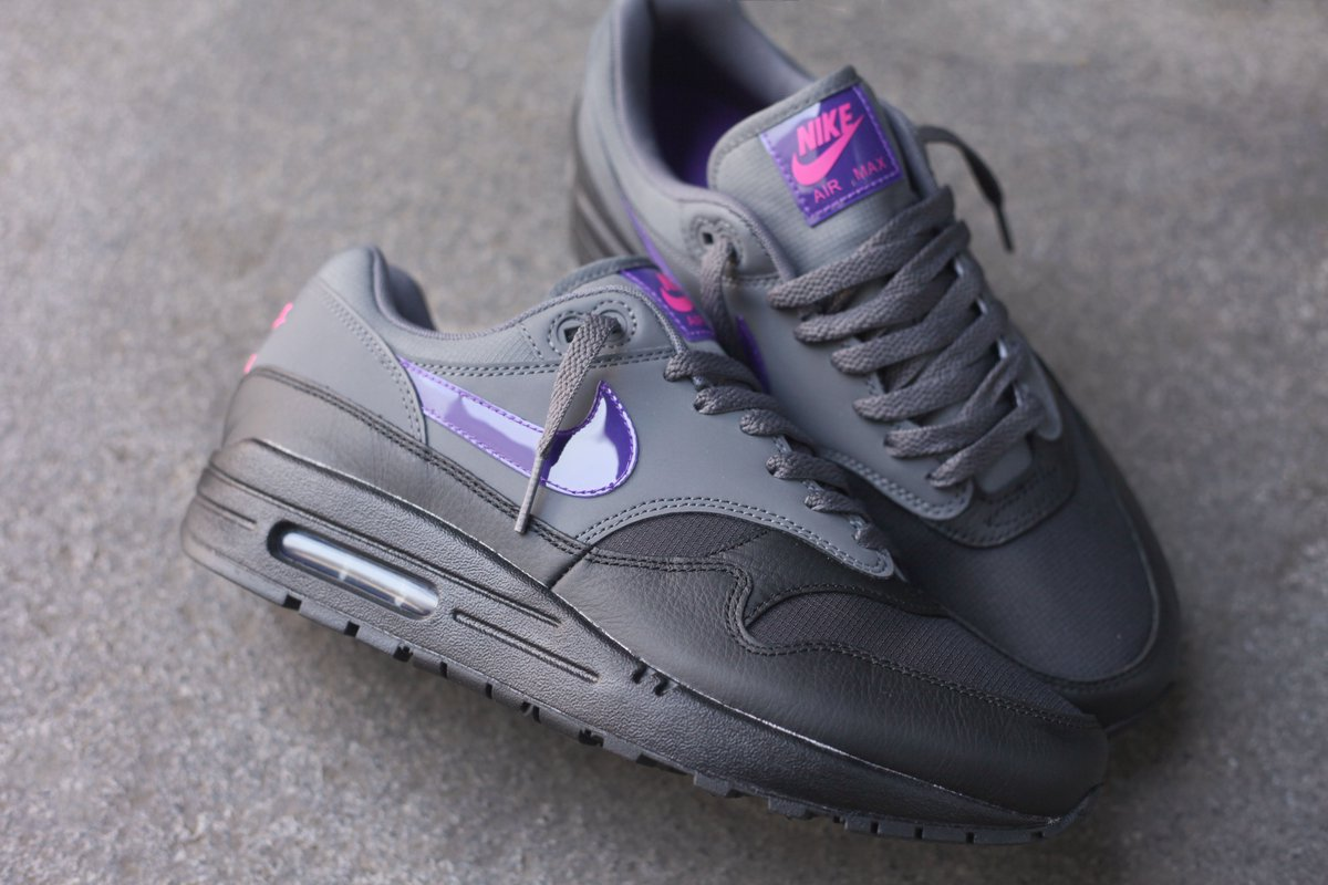 quality design 50733 4f671 Nike Air Max 1 Dark Grey Fierce Purple is now available in-store and online  ...