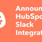 Sales isn't just about data. Put your focus on communicating and on building meaningful relationships. Don't lose context or get lost in data entry– work where you want with HubSpot and Slack. Introducing our newest integration: https://t.co/LTXfbUGUNf