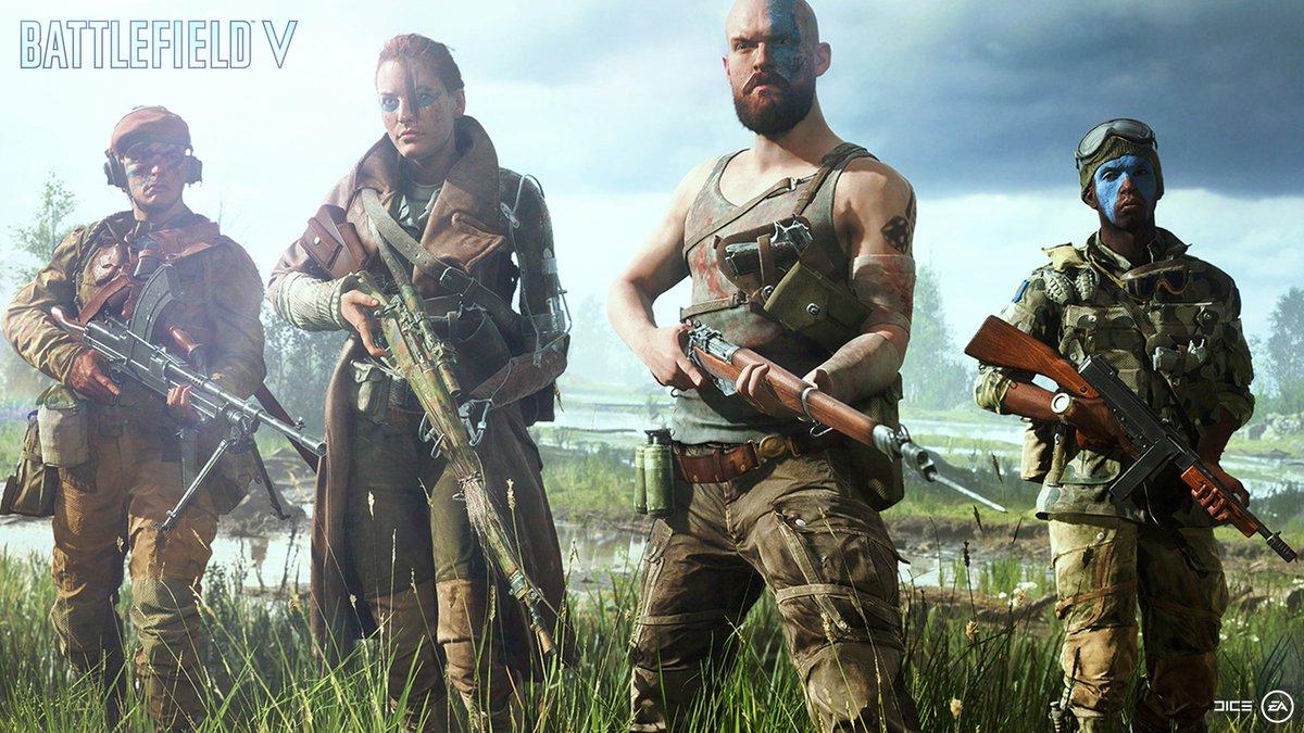 Xbox UK's photo on Battlefield V