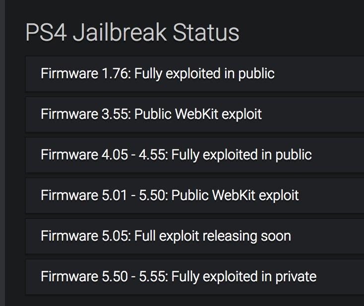 jailbreak ps4 5 55