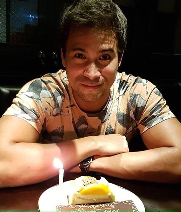 Repost from IGs -- Happy birthday Sam Milby !