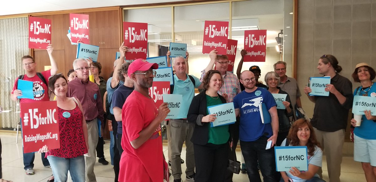 Aren&#39;t they a good looking group? #15forNC at the #NCGA. <br>http://pic.twitter.com/WThORF03M5