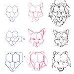 動物のイラストが苦手なイラスターさん集合!六角形を利用すれば上手に動物が描ける!