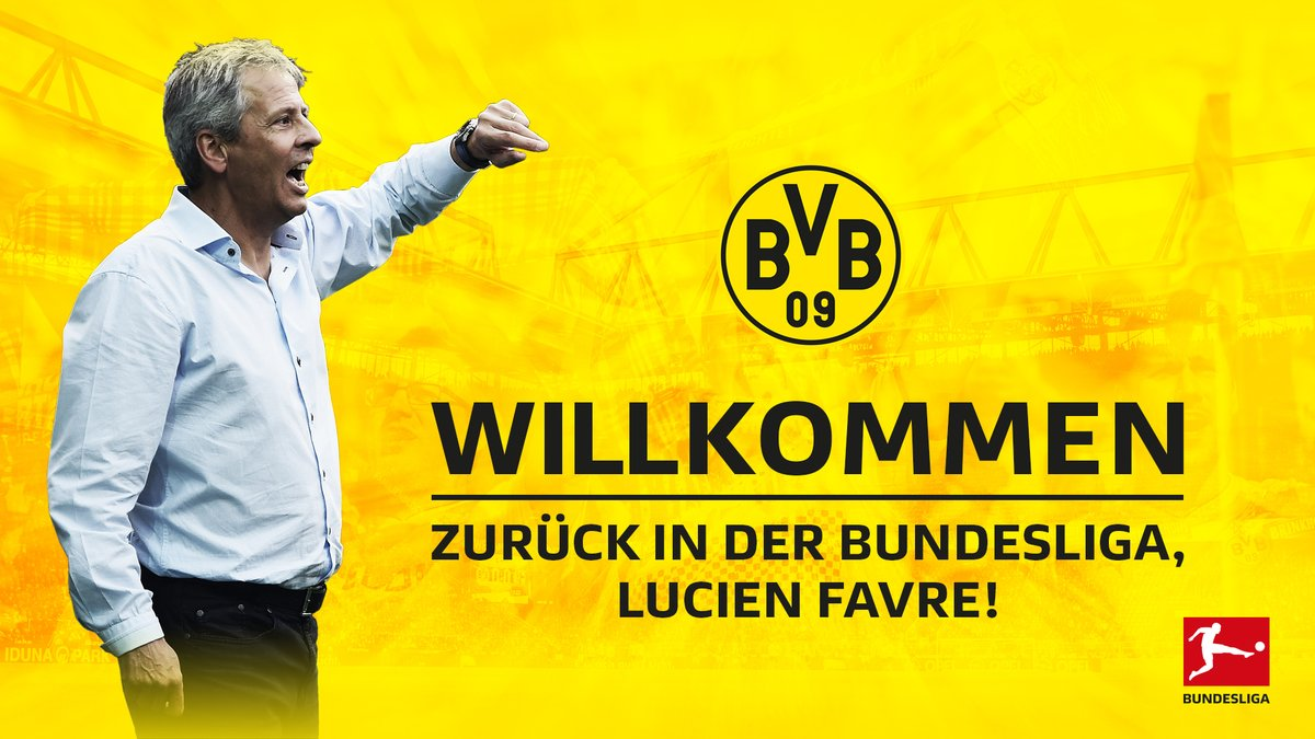Lucien Favre, NUEVO ENTRENADOR del Borussia Dortmund. #Bundesliga